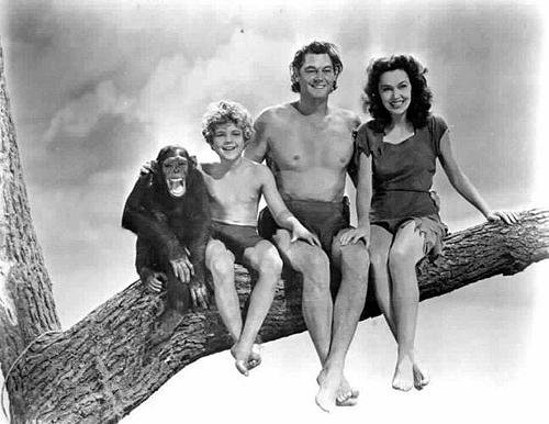 Tarzan et le singe