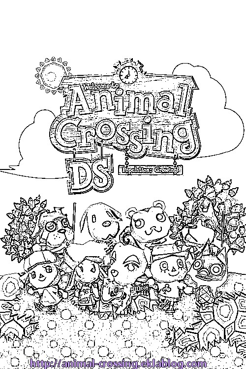 Anamil Crossing New Leaf Free Colouring Pages Animal Crossing New Leaf Coloring Pages