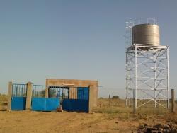 Projet 2012 : Raccordement au réseau alimentation eau potable