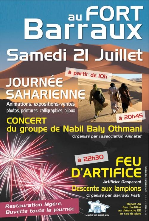 Journée saharienne à Fort Barraux