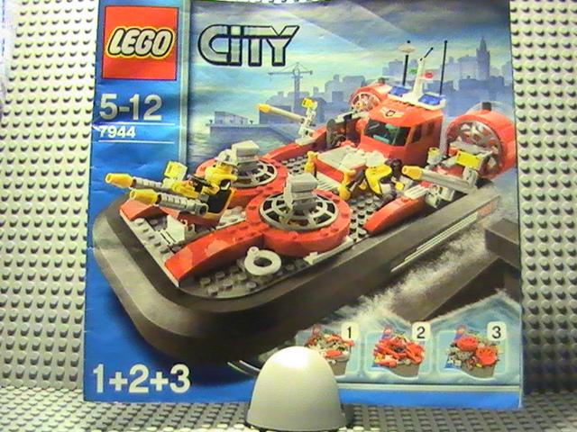 lgo city n7944 de 2007 lhovercraft des pompiers - Lego City Pompier