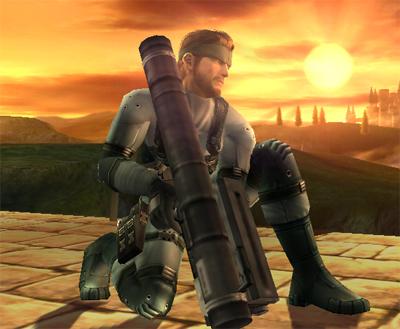Solid Snake !