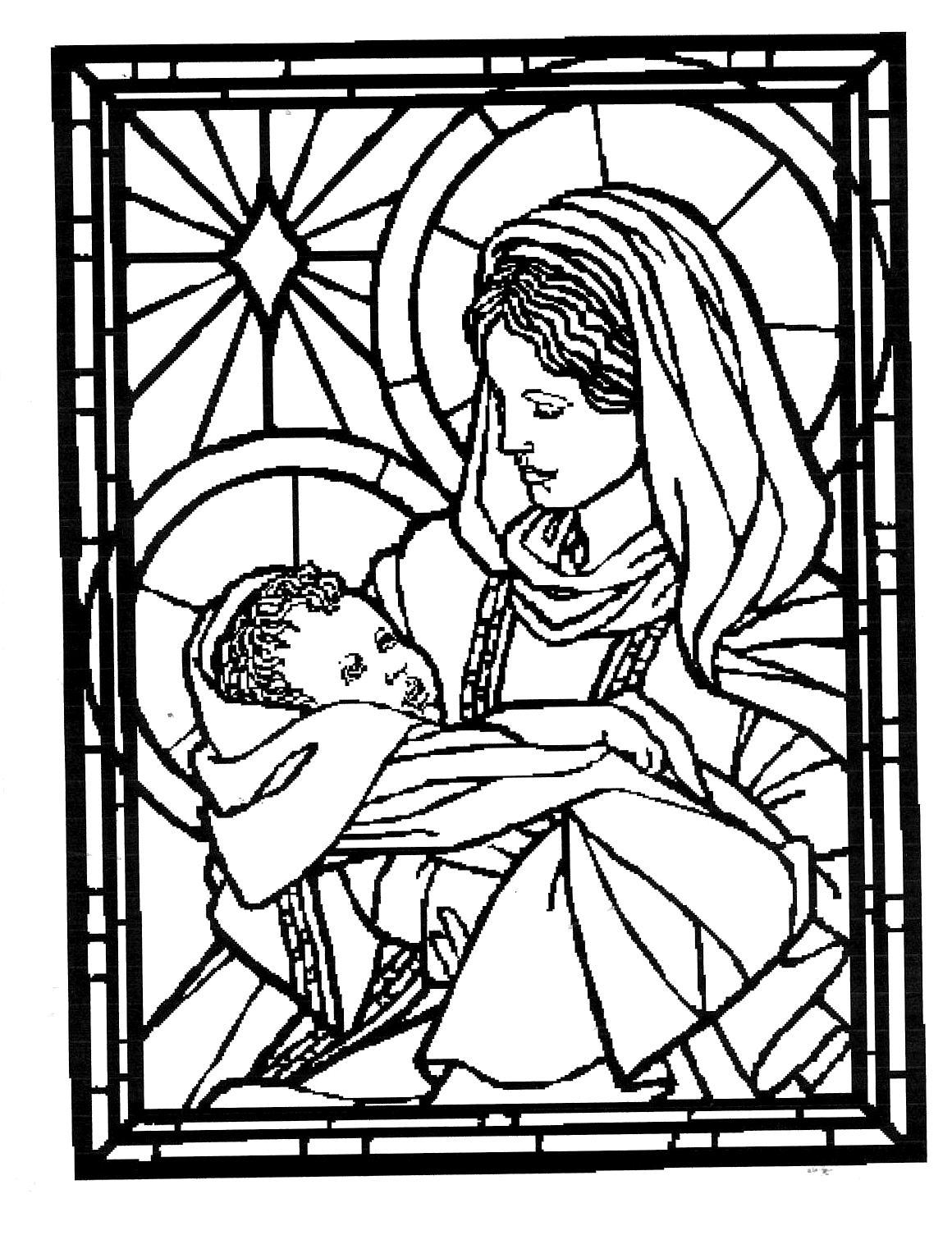 Line St Jean Art Et Design : Iconographie chrÉtienne solennitÉ de sainte marie mÈre