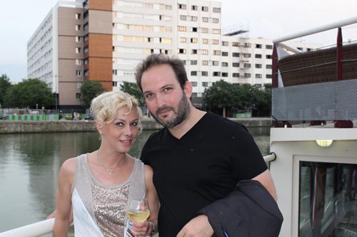 Jérémie Kopaniak et Cathy Bohrt