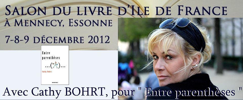 Entre parenthèses sélectionné au salon du livre de Mennecy 2012