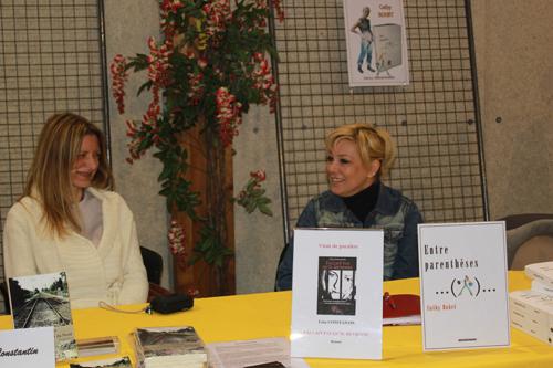 Léna Constantin et Cathy Bohrt