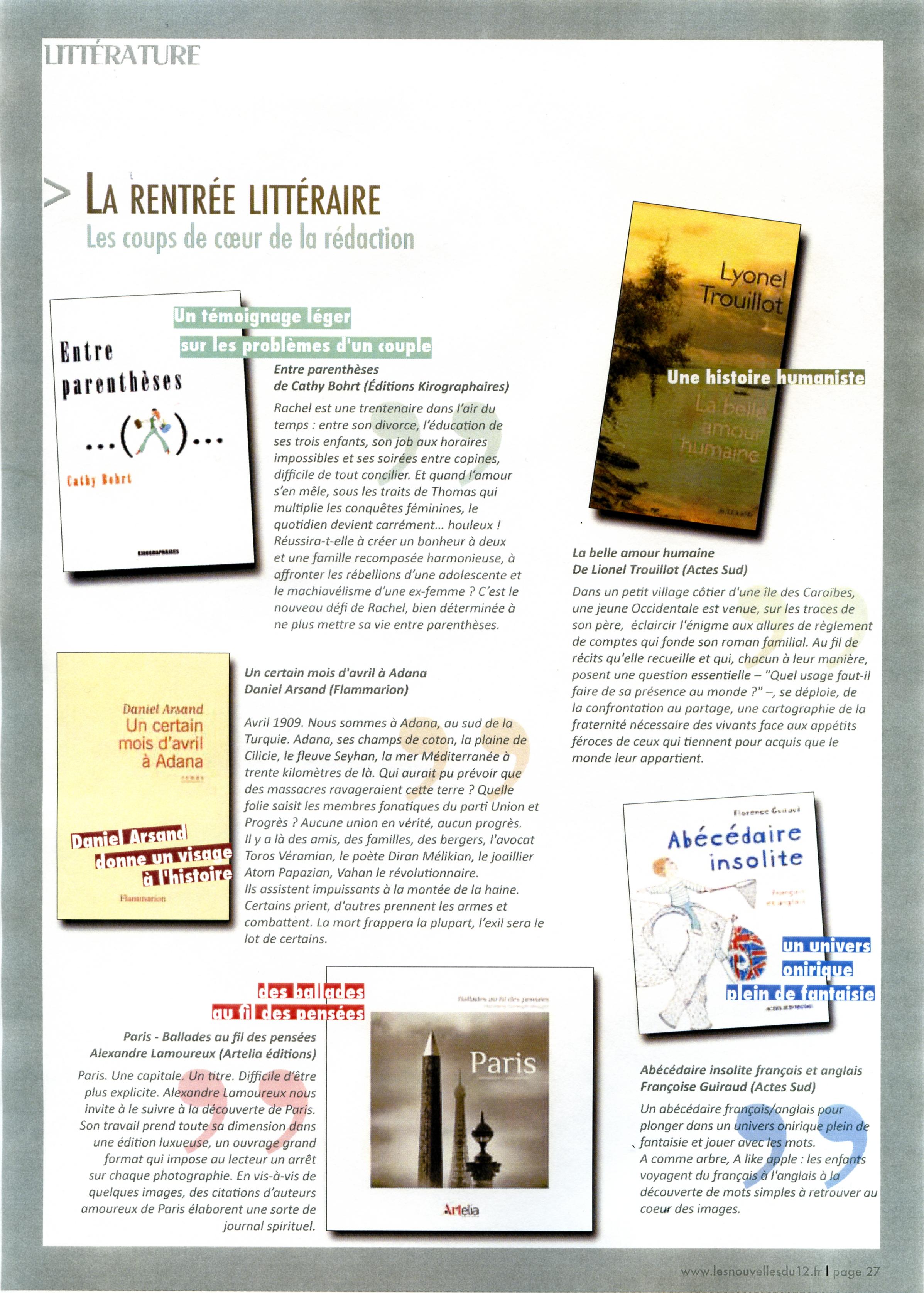 Communiqué de presse du 12ème Arrdt de Paris