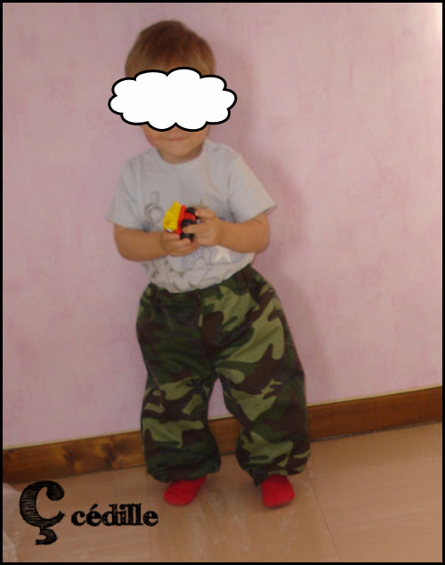Petit guerrier...
