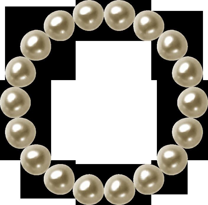 精美珍珠像框 剪贴画!