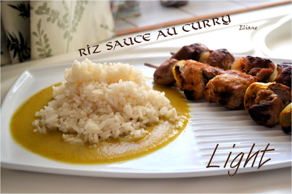 Riz Sauce au Curry