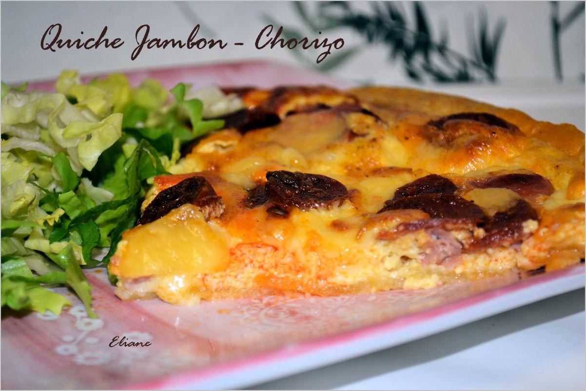 Quiche Jambon & Chorizo