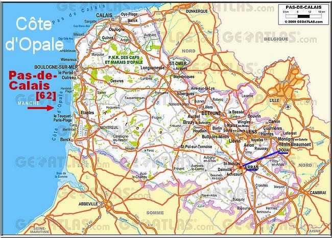 C'est vaste, le Pas-de-Calais !