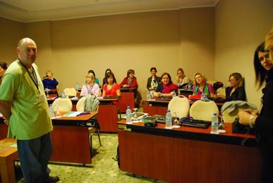 meeting de travail en Turquie