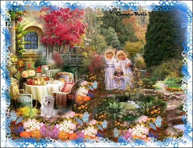 Défi à thème: le jardin