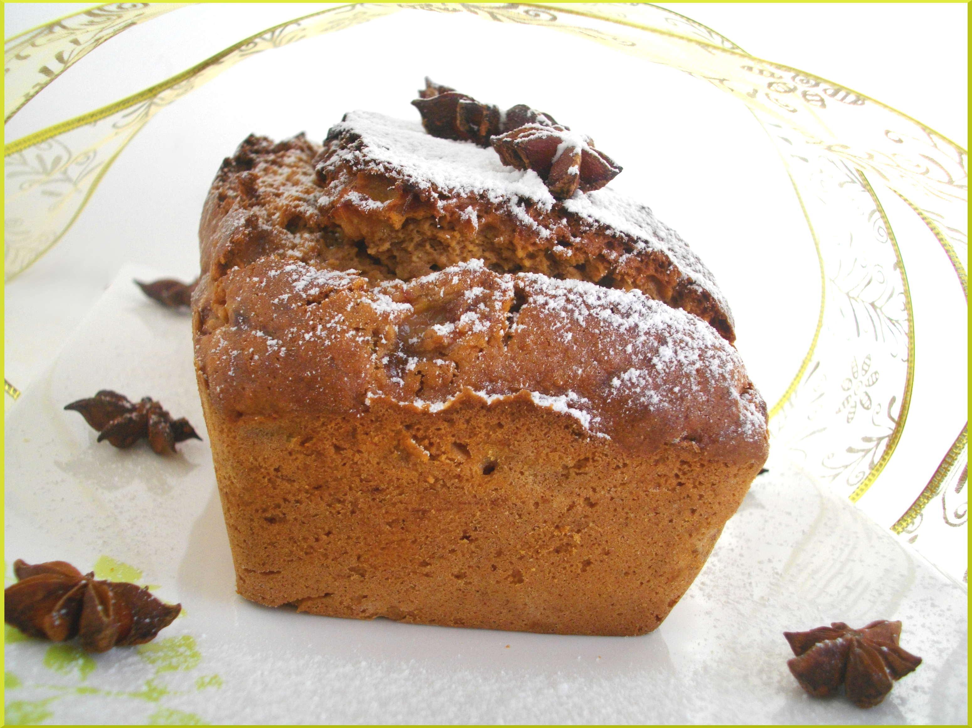 Cake ''Banane, Chocolat, Muscade & Muscovado''