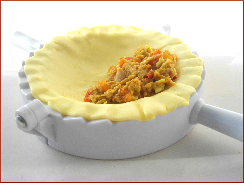 Empanadas au Thon, Curry et Graines de Courges...