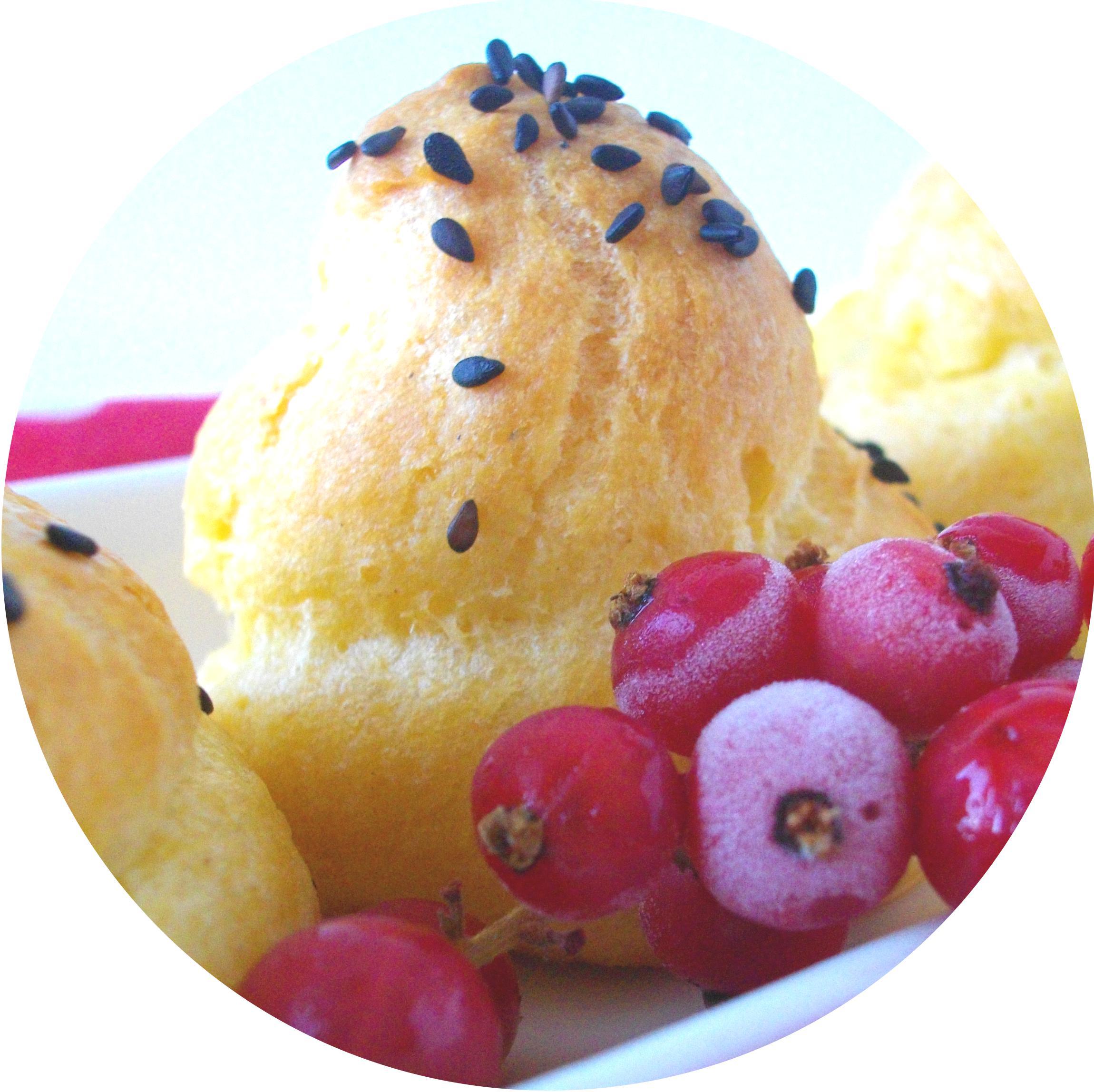 Gougères aux Rillettes de Merluchon, Citron & Gingembre