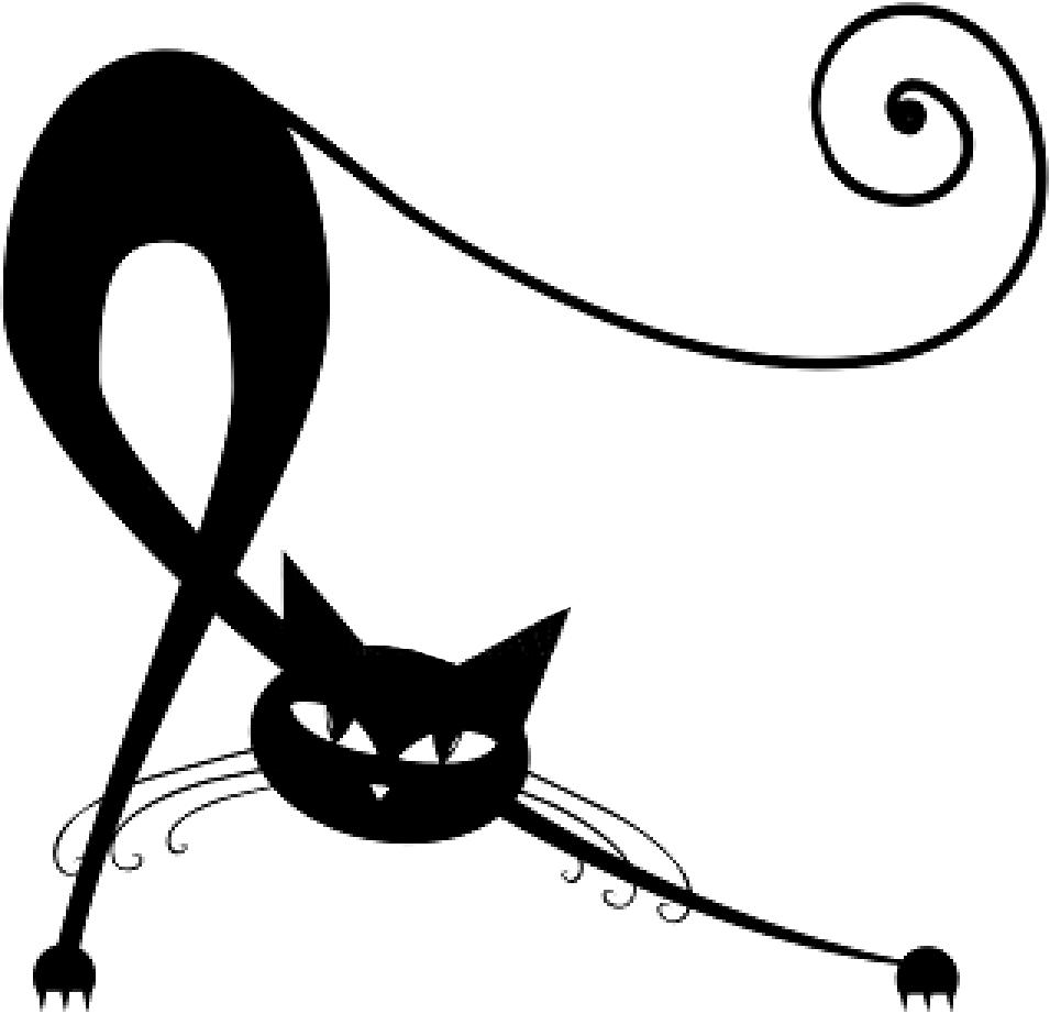 C 39 est lui mon chat dans ma campagne 33 for Le noir et le blanc