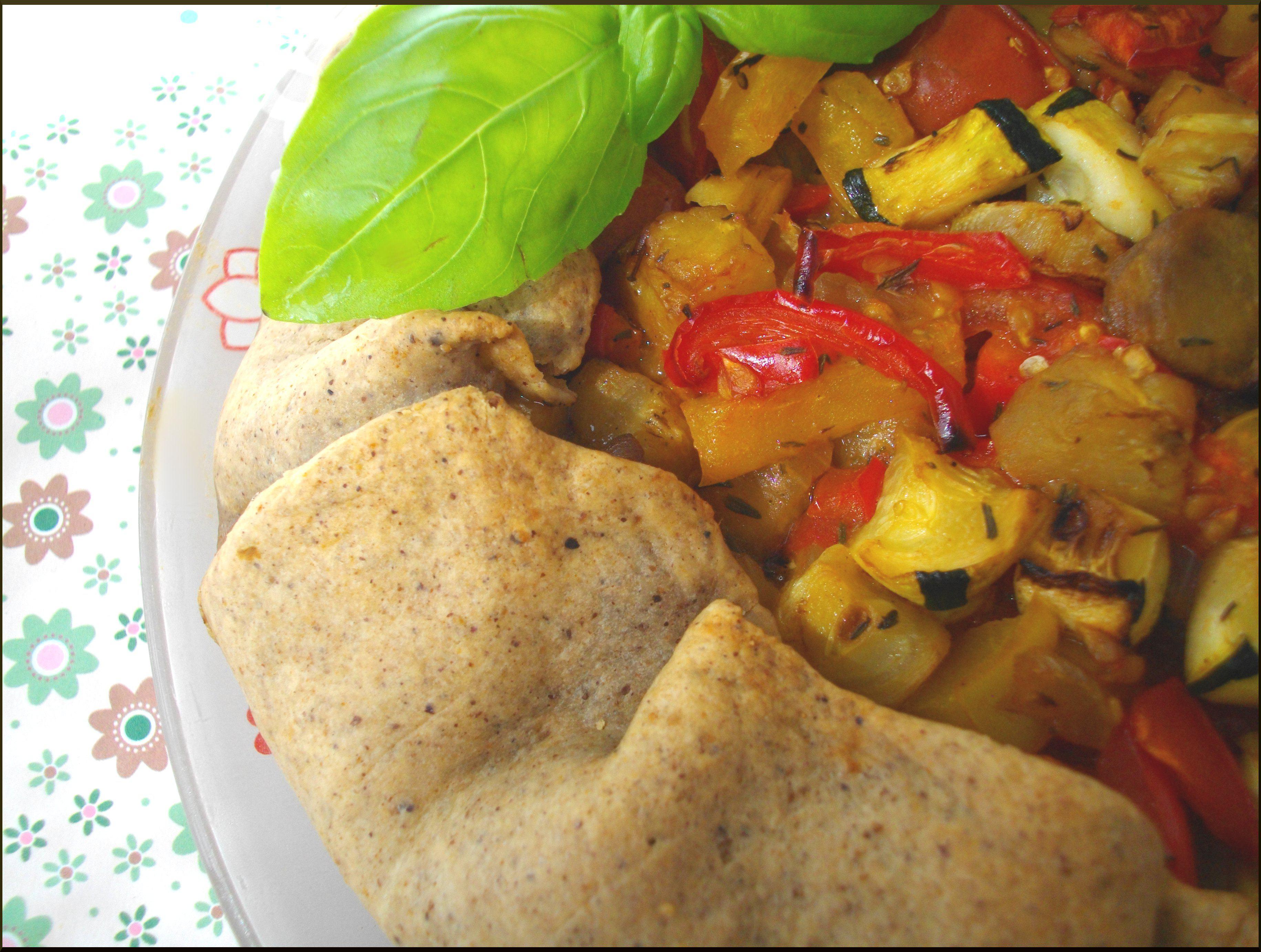 Tarte estivale aux Légumes Braisés...