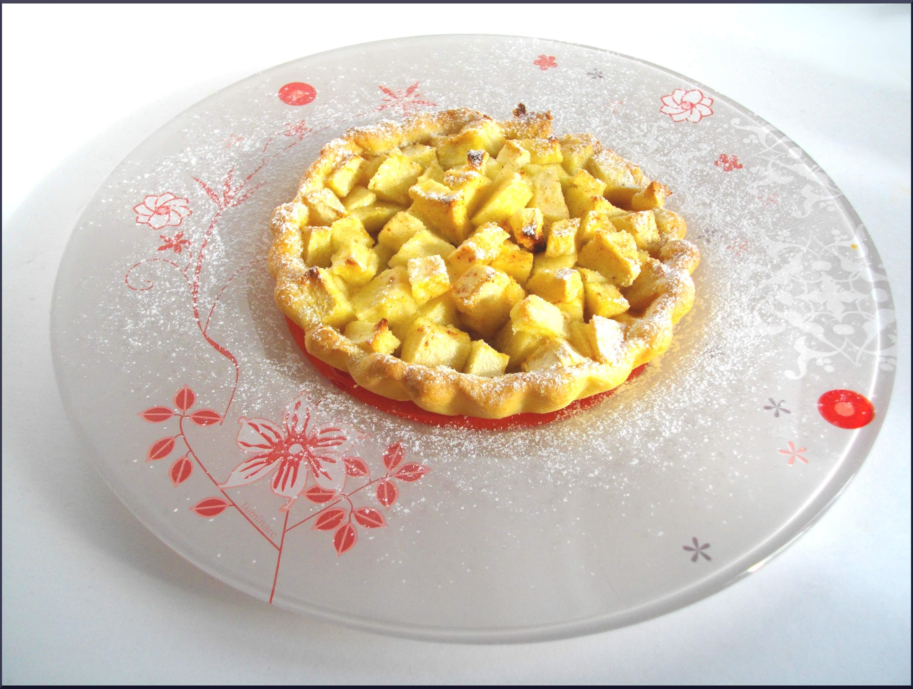 Tartelettes Pomme Rhubarbe & Muscovado