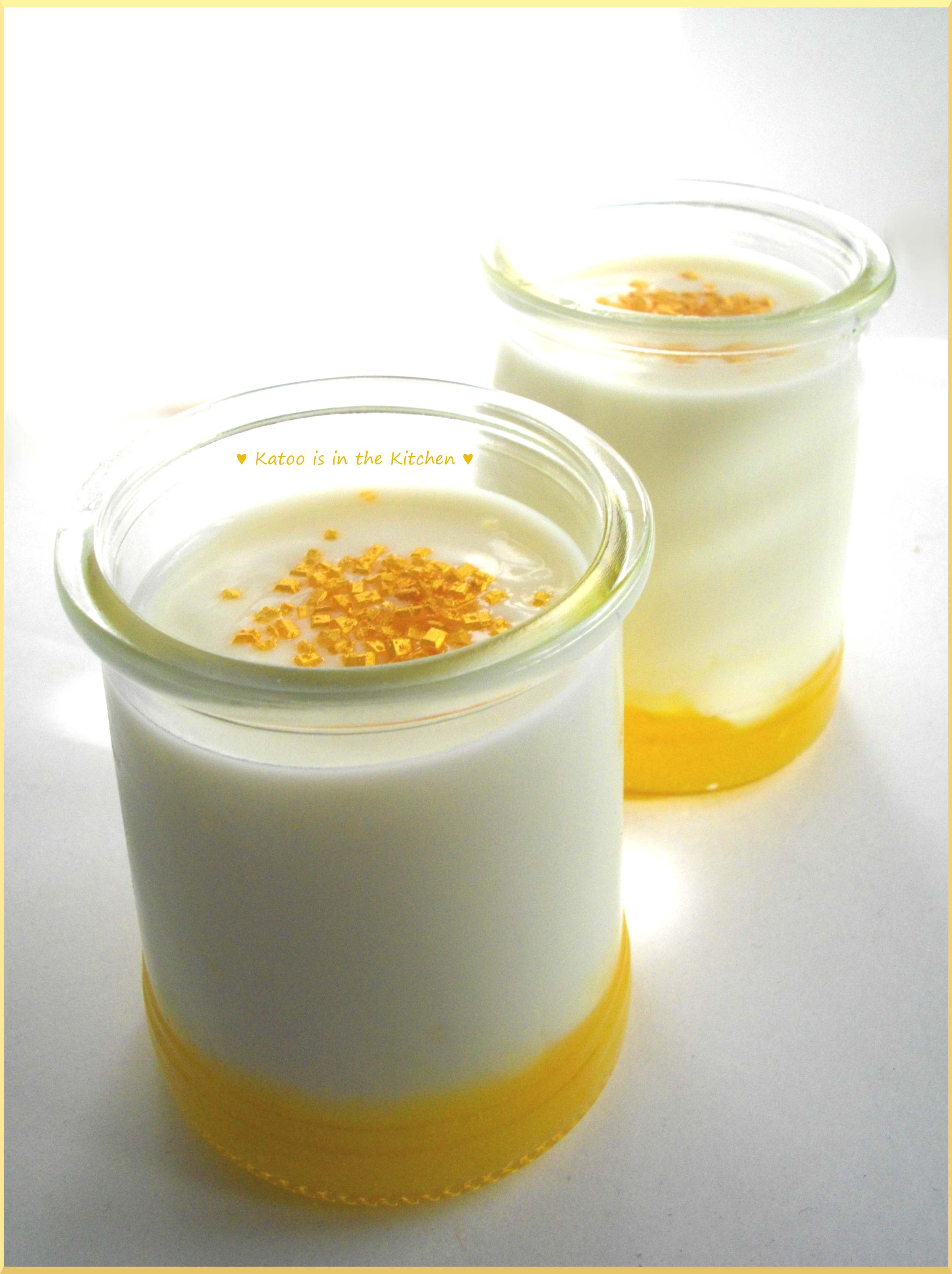 Veloutés au Lemon Curd & Sucre d'Or
