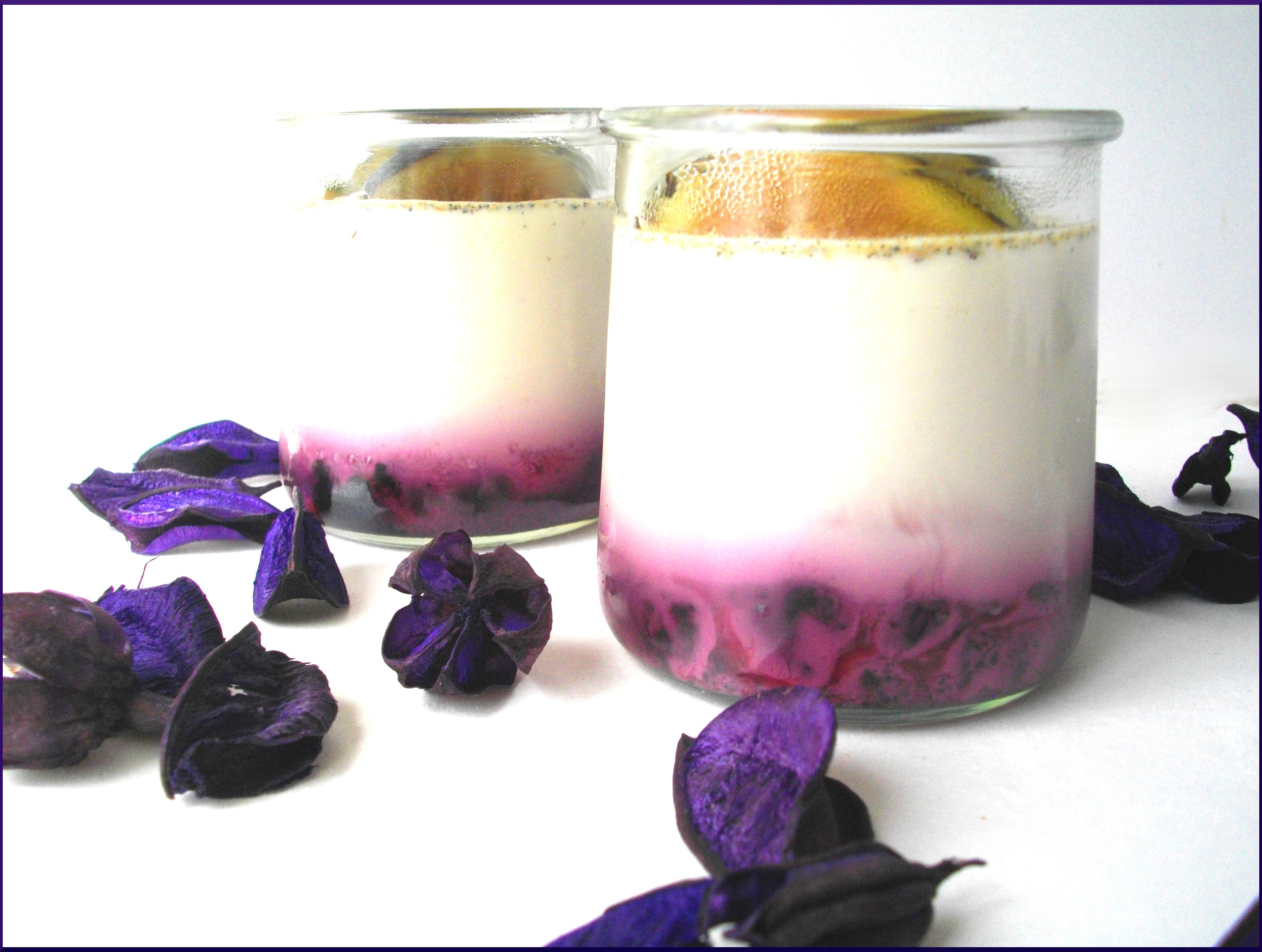 Yaourts au lait entier, Vanille, Myrtilles et Figues Noires....