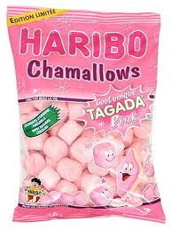 Test des chamallows goût tagada pink!!