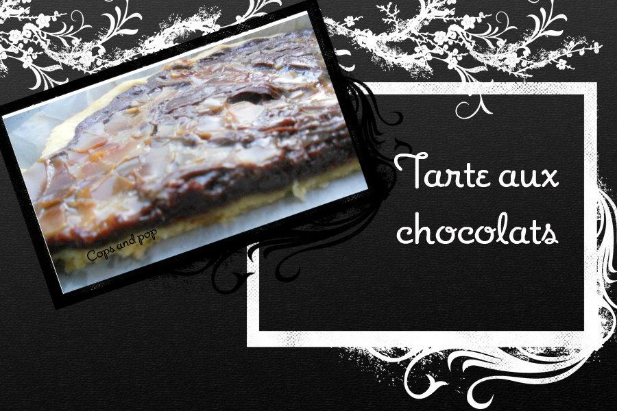 tarte aux chocolats