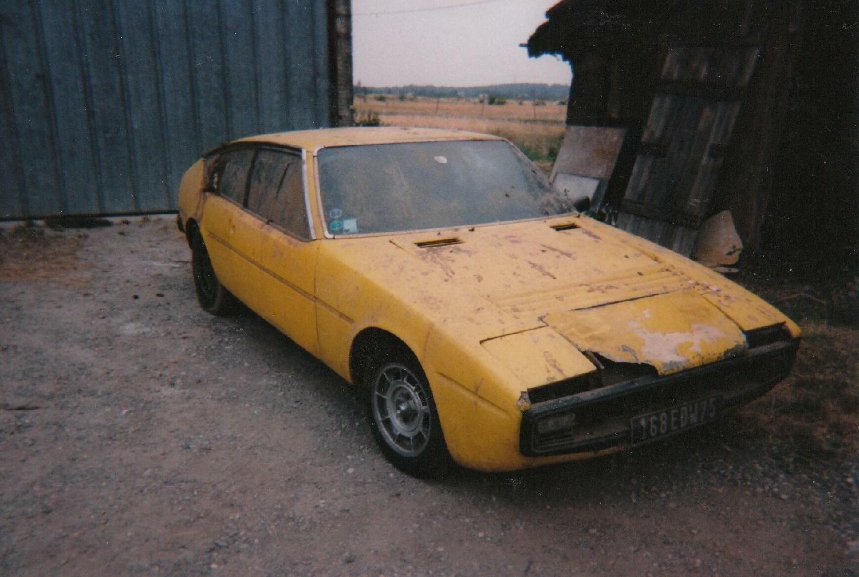 matra-simca bagheera 1974