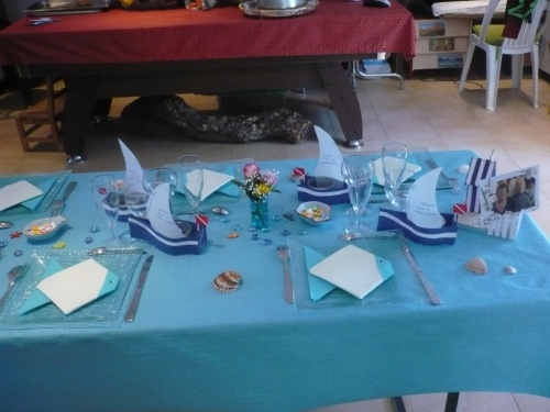 Decoration de table pliage de serviette page 2 - Deco table bord de mer ...