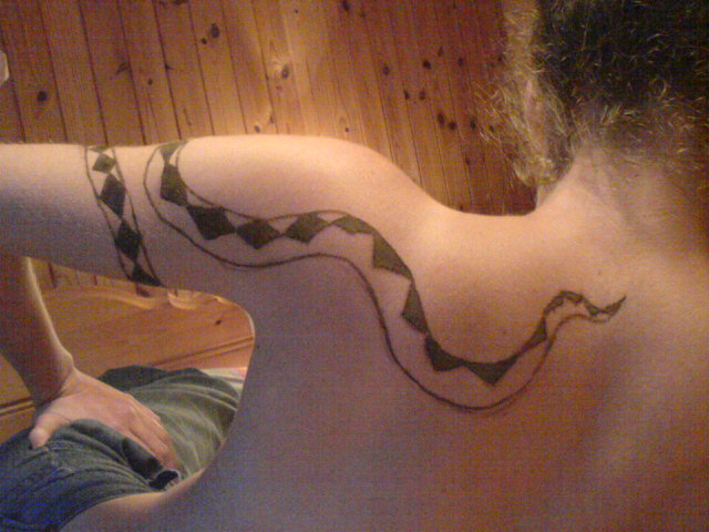 le corps du serpent