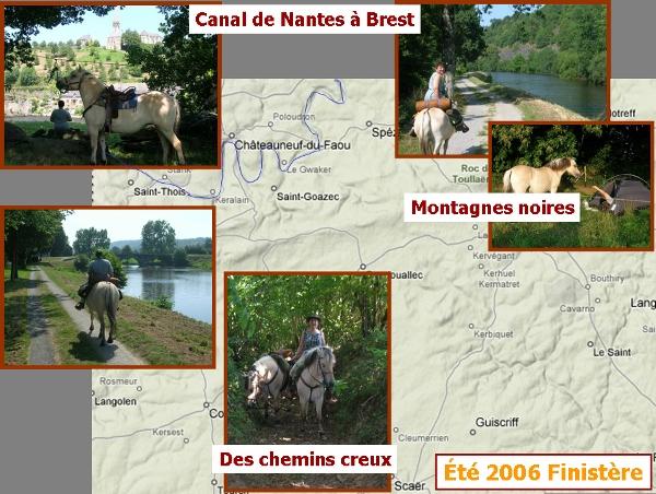 Entre Scaër et le canal de Nantes à Brest