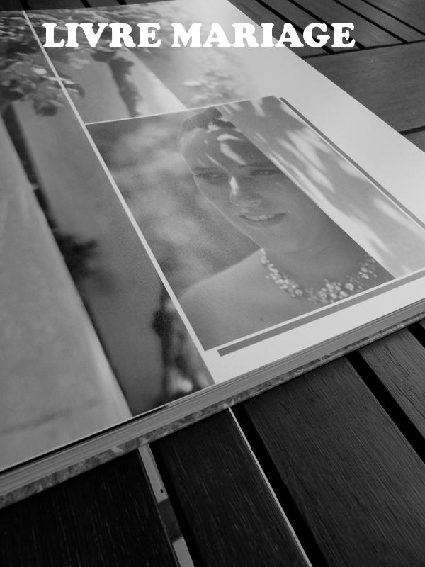 Exemple de Réalisation de Livres Photos Mariage