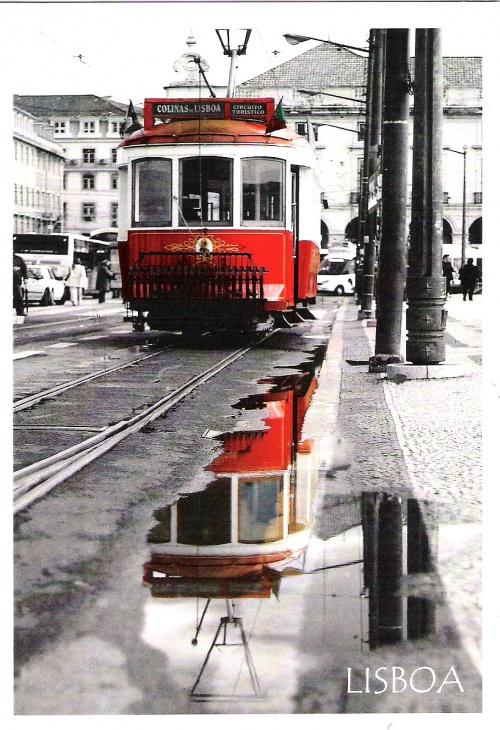 Une carte postale originale....de Lisbonne