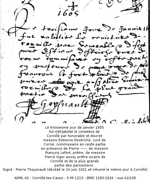 Cornillé 1605