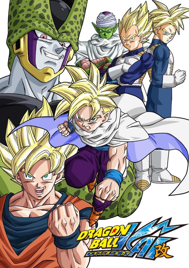 Dragon Ball Kai Saison 4 - Arc Cell [FIN]