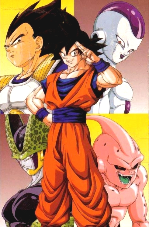 Dragon Ball Kai Saison 1 - Arc Saïyens