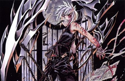 Anime Boy Kneeling. Watch the anime,