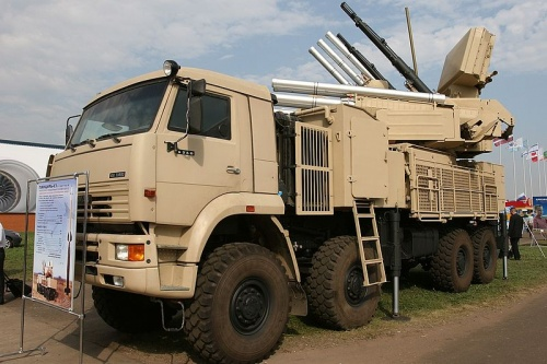 Un missile anti-arien russe Pantsyr-1 rcemment fourni, a t utilis pour abattre lavion de chasse turc. 