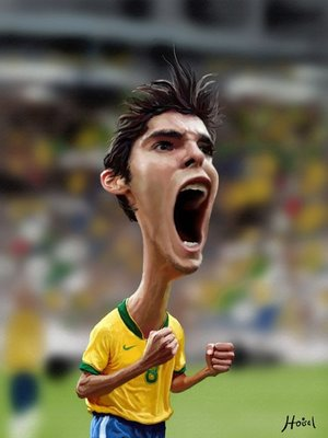 La rage de Kaka.