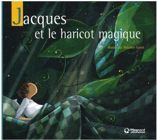 couverture Jacques et le haricot magique