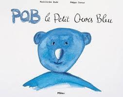 couverture pob le petit ours bleu