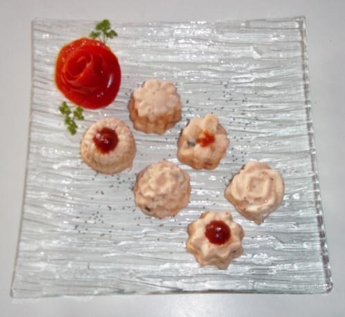 THERMOMIX- Boudins de saumon