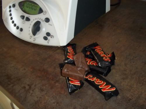 Cake au barre chocolaté Mars- THERMOMIX