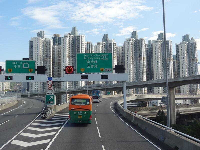 Premier jour à Hong Kong