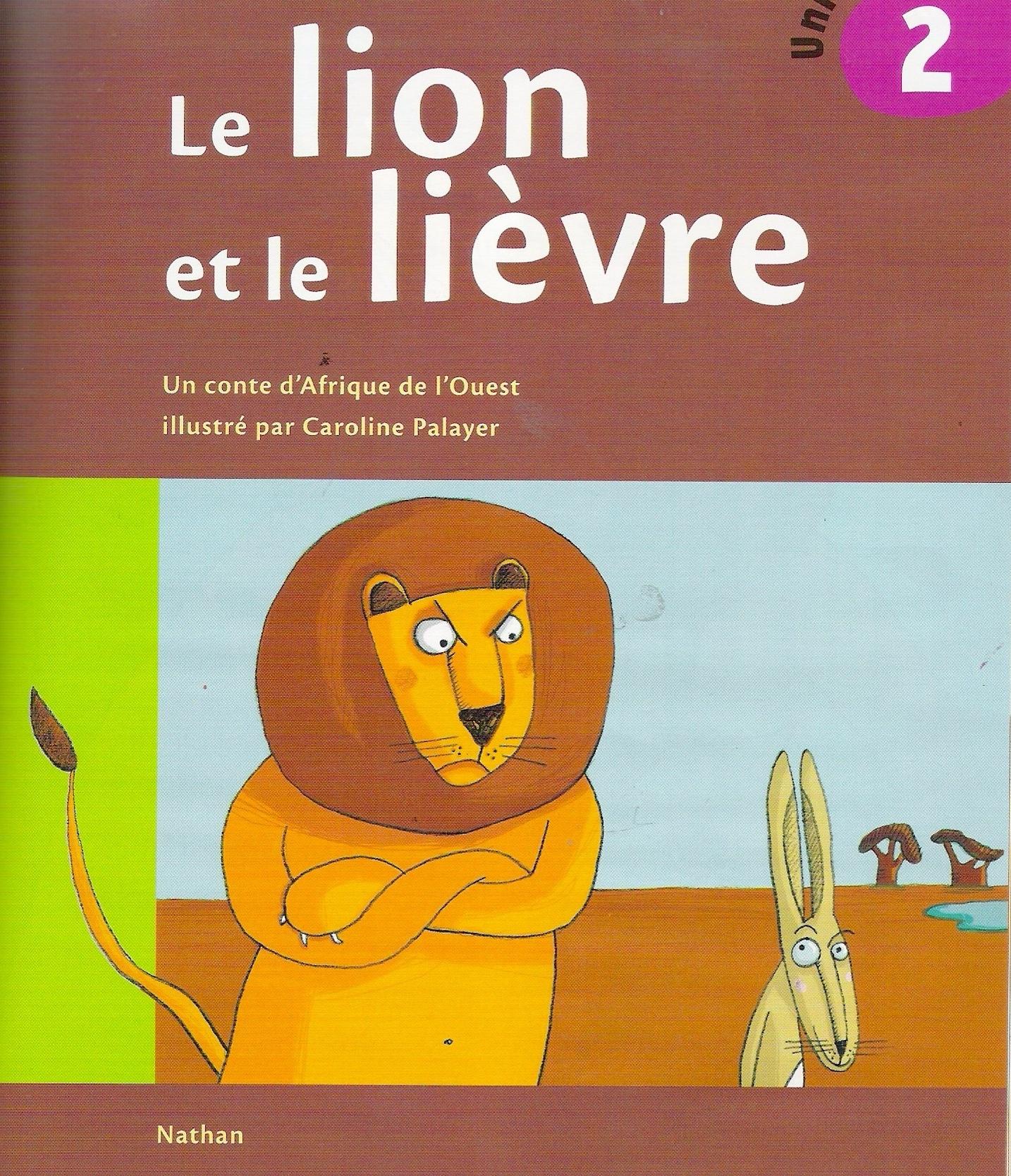 Le lion et le lièvre CP