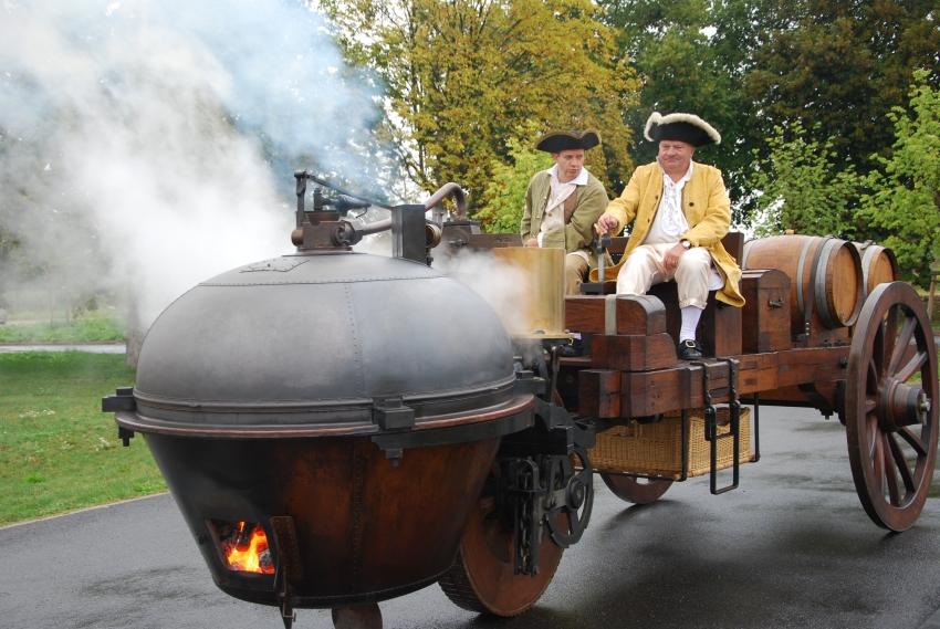 A toute vapeur à Mulhouse cugnot