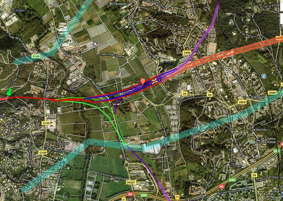 Un TCSP est déjà prévu pour la gare ouest06 du fuseau sud