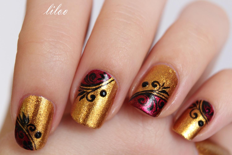 Glitz glamour de orly et sa d co le blog for Art et decoration 2012
