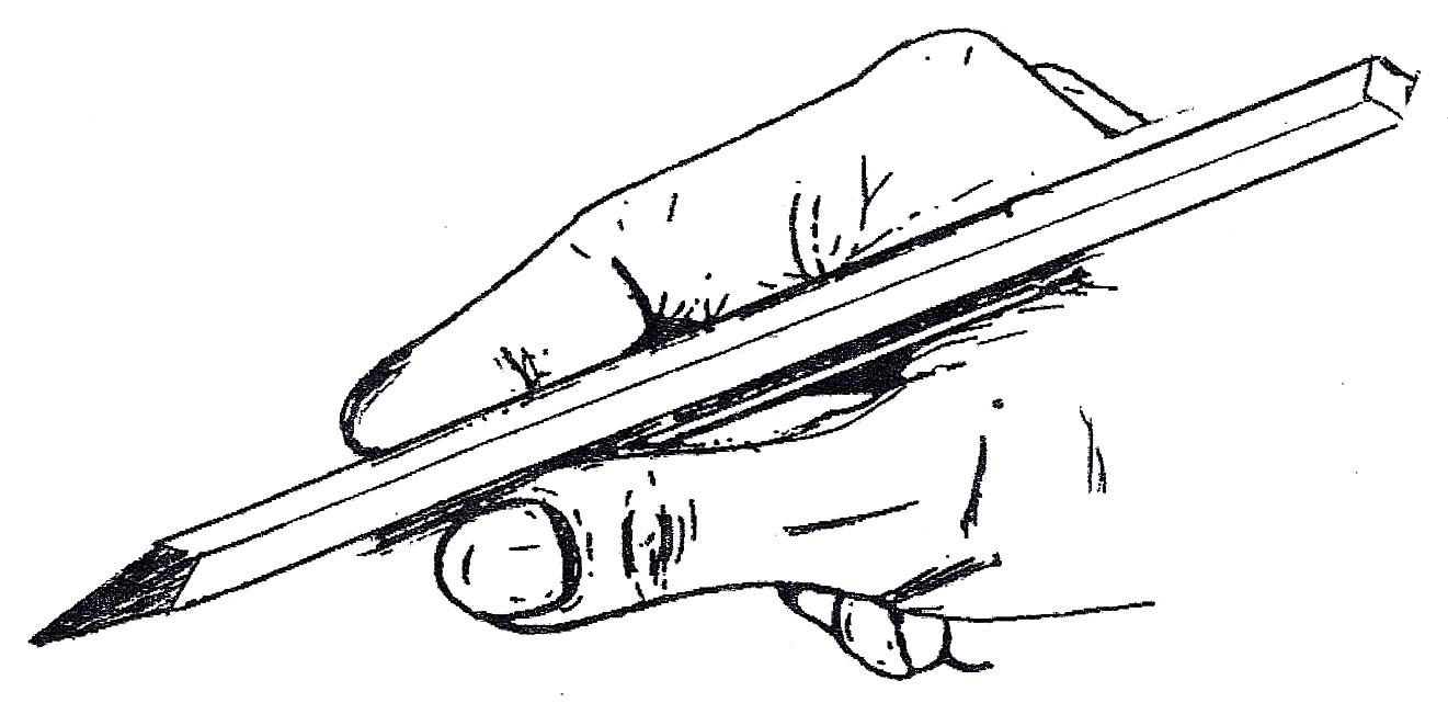 Tenur du stylo : comment tenir l'outil scripteur ?